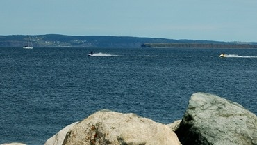 jet skiing in Conception Bay South